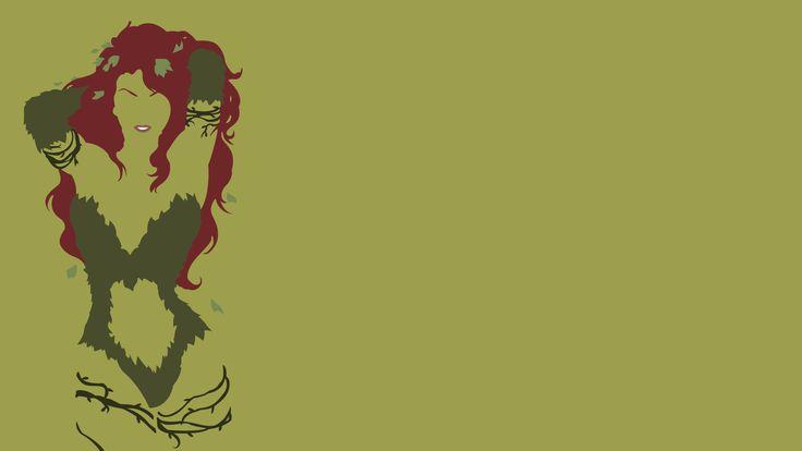 sensual poison ivy desktop wallpaper 24150 anime