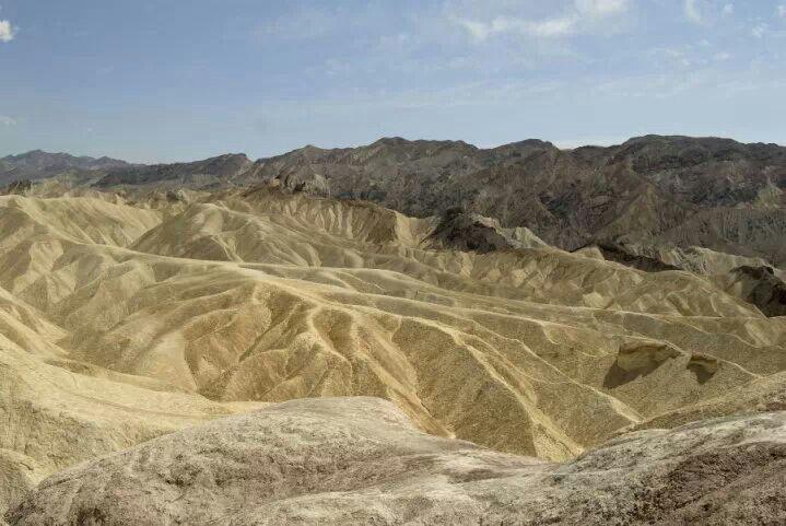 USA, Death Valley, Zabrinsky Point