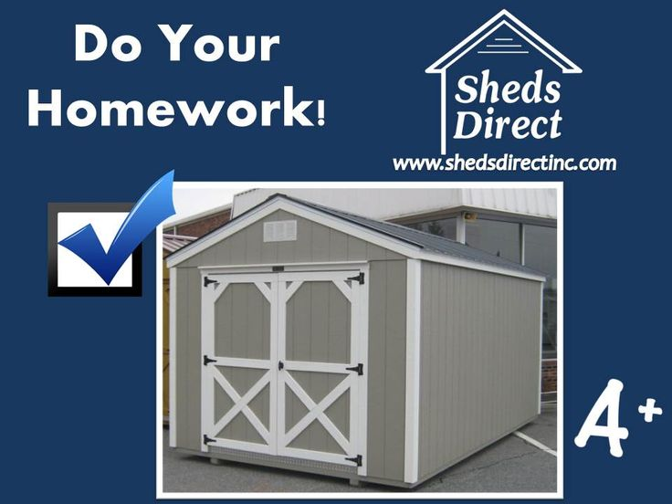 Check out Sheds Direct!