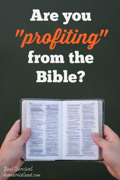 """""""Are You Profiting from the Bible?"""" (11.25) #Bible #Scripture #Biblereading #Biblestudy #memorization"""