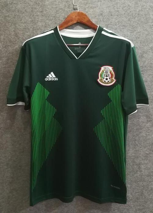 302a3faec63 2018 Men Mexico Jersey Stadium Home Soccer Jersey World Cup Jersey Fanatics