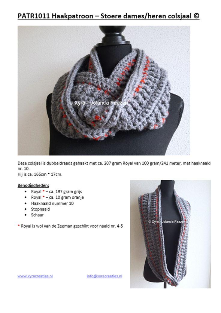 Mejores 674 imágenes de Mutsen en sjaals haken en Pinterest | Chal ...