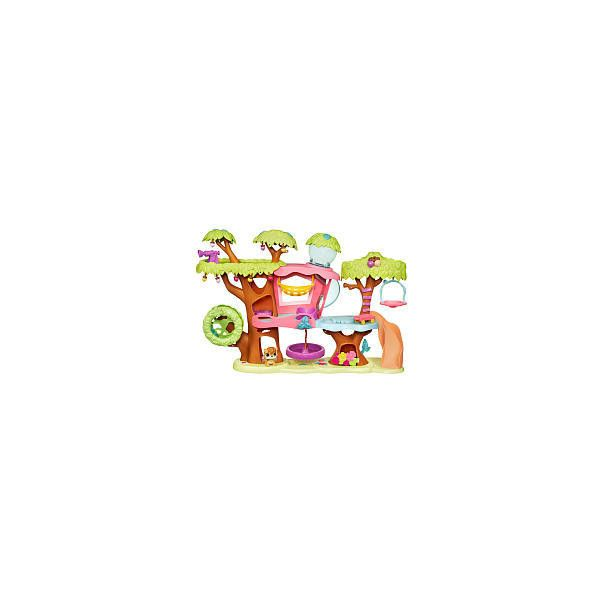 Littlest Pet Shop Magic Motion Treehouse Playset Hasbro