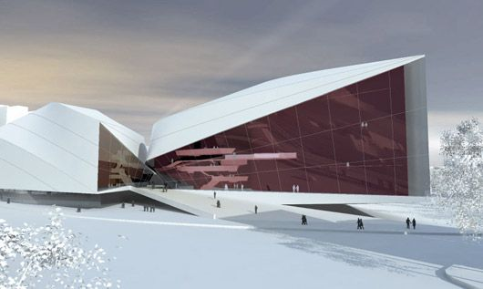 Taipei Performing Arts Center Proposal by Architects Collective