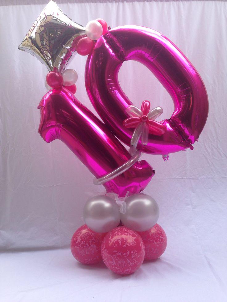176 Best Mega Number Foil Balloon Images On Pinterest
