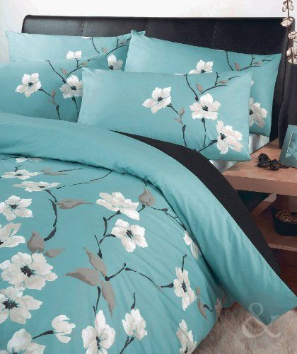 Oriental Floral Duvet Cover Set Luxury Poly Cotton Bedding