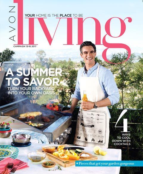 Turn your backyard into your own oasis! Shop the Avon Living magalog online: https://www.avon.com/brochure?rep=stephanielackey&utm_content=bufferece2c&utm_medium=social&utm_source=pinterest.com&utm_campaign=buffer#/700/201715/en/700 #summer #homemakers #avonrep