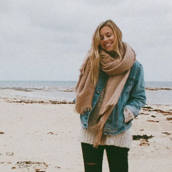 Fall at the beach is the perfect combination of cozy and refreshing! Break out your sweaters and scarves!