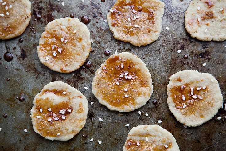 SENBEI, JAPANESE RICE CRACKERS #flour #grain