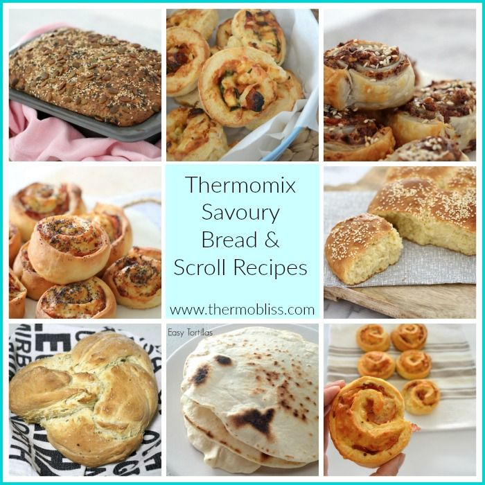 To celebrate the start of winter, we've put together a collection of some of our favourite Thermomix savoury bread and scrolls recipes - enjoy!