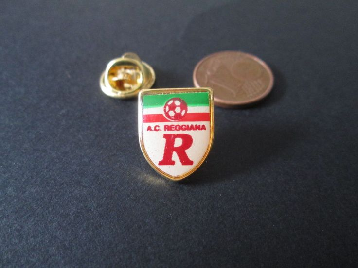 a5 REGGIANA FC club spilla football calcio soccer pins badge italia italy