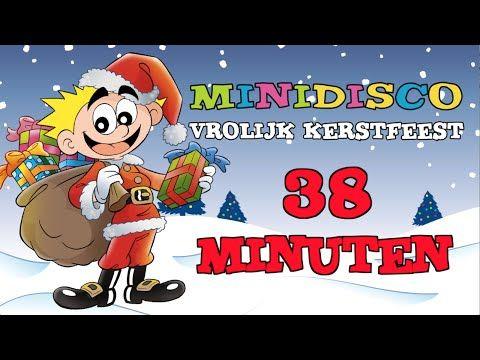 Minidisco KERST - Vrolijk Kerstfeest NON- STOP 18 liedjes - 38 minuten - YouTube