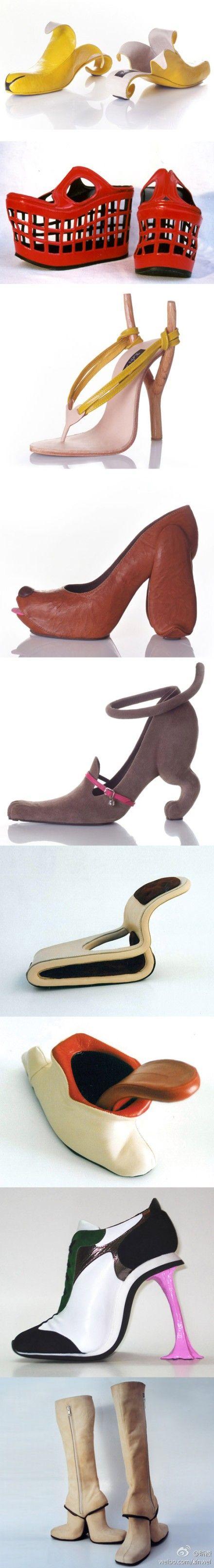 这是鞋吗?是玩具吧?哈哈,总之看着很欢乐……_来自阿晓信信的图片分享-堆糖网