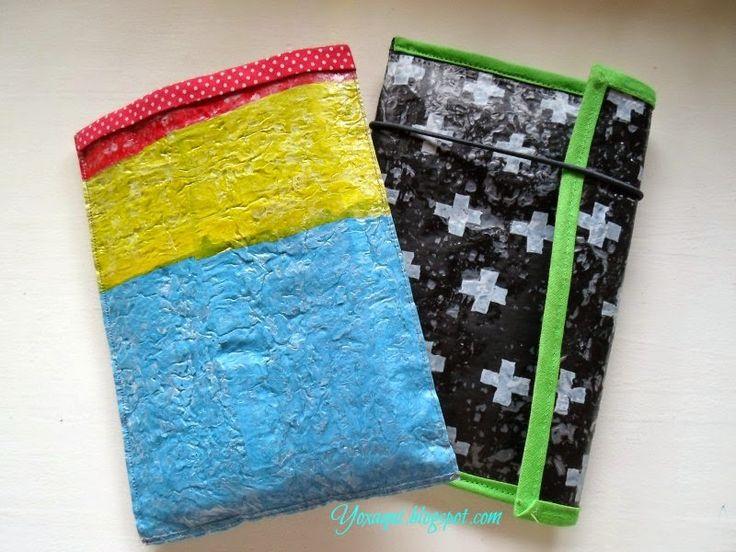Yo x aquí: Reciclaje de bolsas plásticas + tutorial