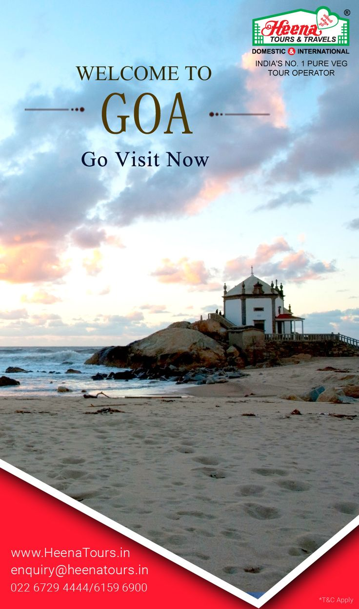 Welcome To Goa..!! Goa is a state in western India with coastlines stretching along the Arabian Sea. Goa is known for its beaches, ranging from popular stretches at Baga and Palolem to those in laid-back fishing villages such as Agonda.