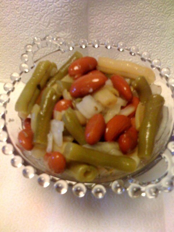 My Mom's 3 Bean Salad - It's a Keeper