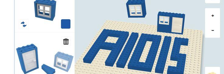 Online Lego - potential to use alongside #assistivetechnology.
