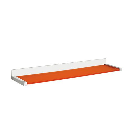 Quadra Bathroom Shelf In Polished Chrome