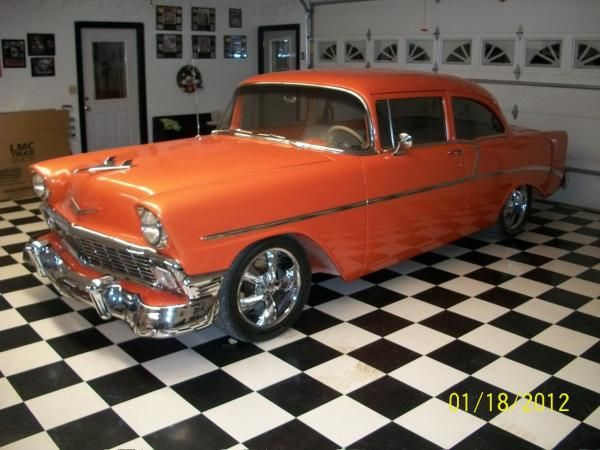 Oldcars Com Photo Chevrolet Sedan 55 Chevy