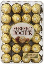 Ferrero Rocher 48-Count Chocolate Gift Box for $11  free shipping w/ Prime #LavaHot http://www.lavahotdeals.com/us/cheap/ferrero-rocher-48-count-chocolate-gift-box-11/186791?utm_source=pinterest&utm_medium=rss&utm_campaign=at_lavahotdealsus
