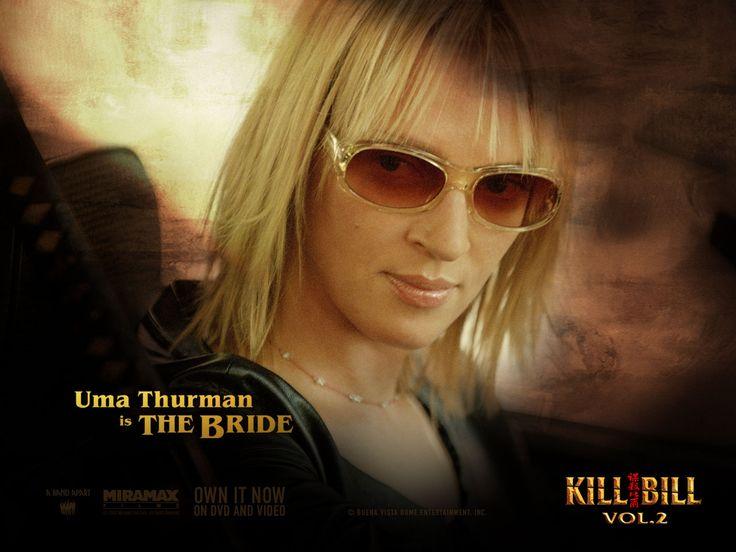 uma thurman kill bill | Movie Wallpapers, Kill Bill Vol.2, Uma Thurman (The Bride) Wallpaper ...
