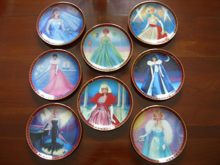 High Fashion Barbie Plates Barbie Plates High Fashion
