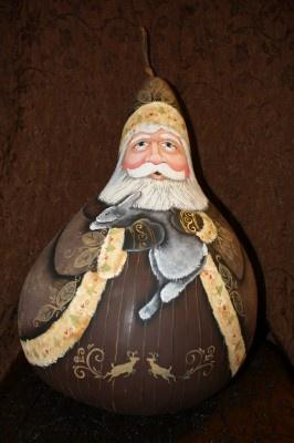 Wilderness Santa Gourd