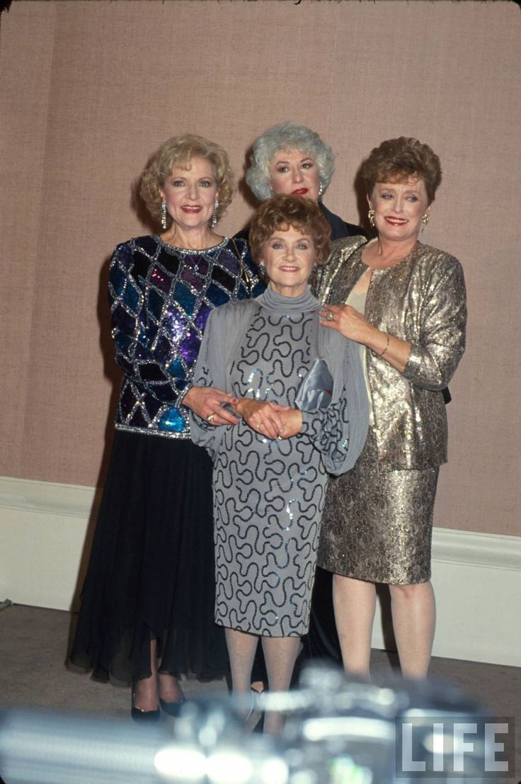Betty white quotes quotesgram - The Golden Girls Betty White Estelle Getty Bea Arthur And Rue Mcclanahan Globe Photos Inc