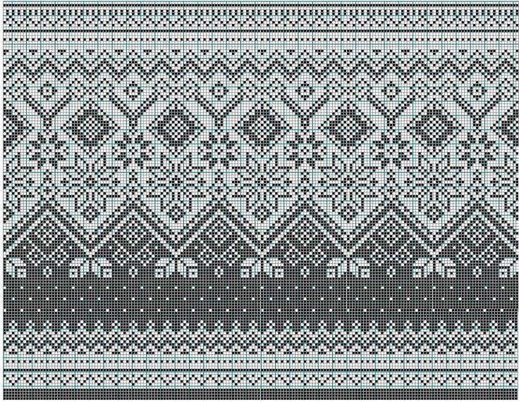 69 best Fairisle images on Pinterest   Knit patterns, Knitting ...