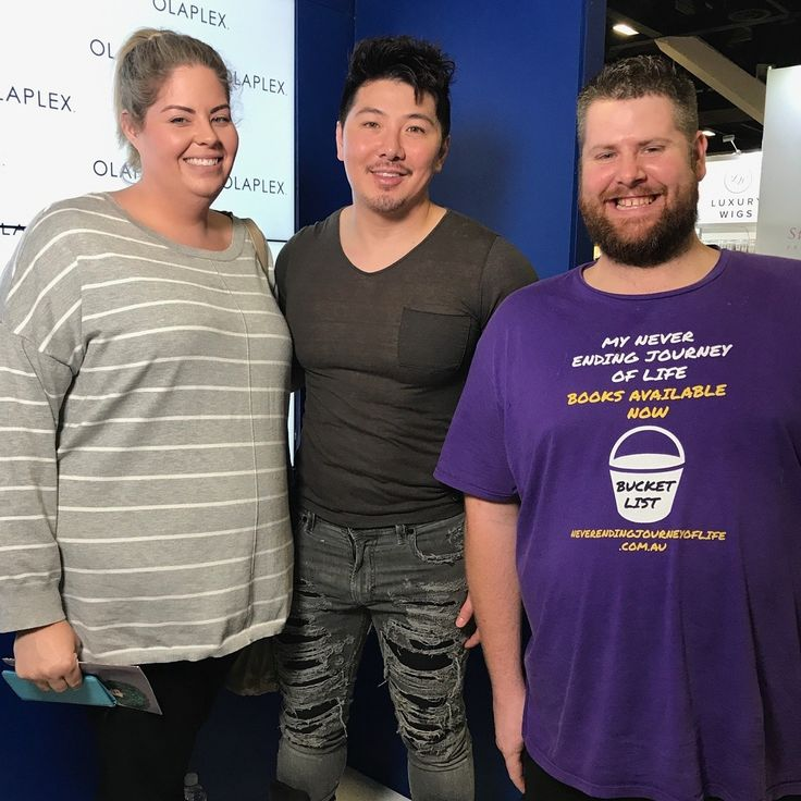 Have My Photo Taken With  A Famous Hairdresser - Guy Tang