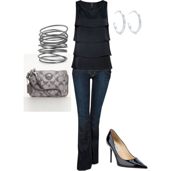 Blissdom Dressy Casual Evening Outfit