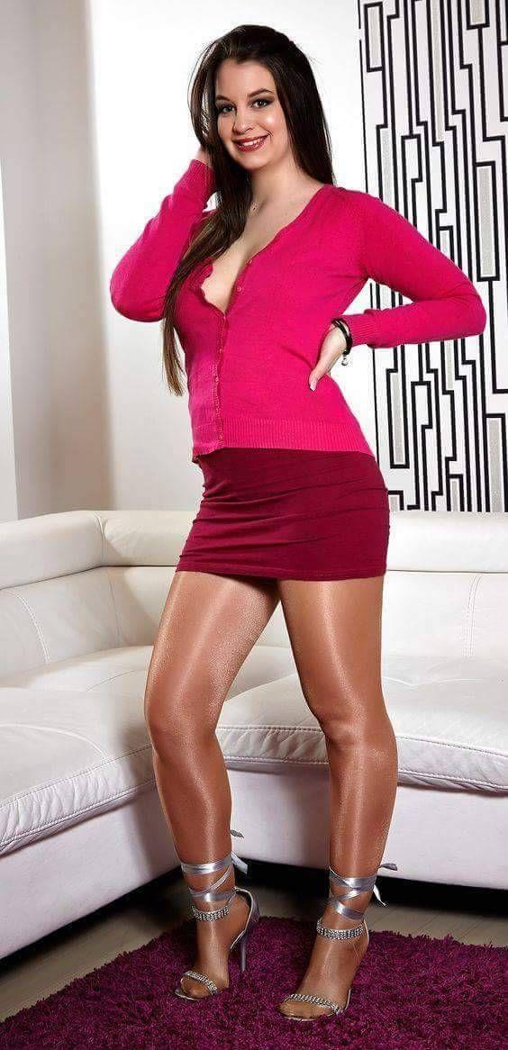 Boob drag dress heel julian make makeover skirt up wig pic 945