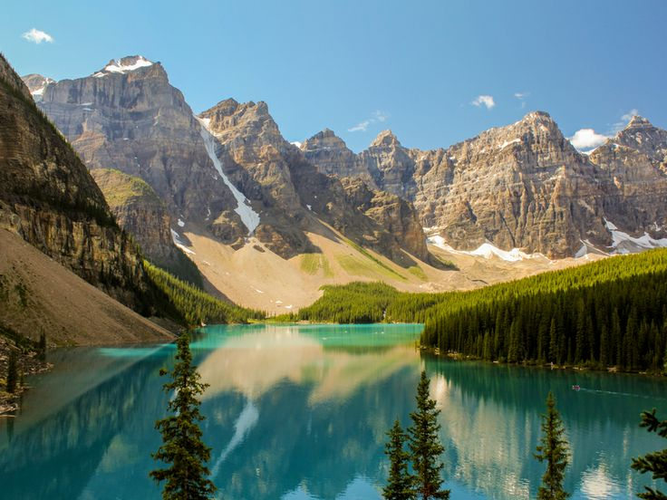 Canadian Rockies Are A Part Of The Enormous North