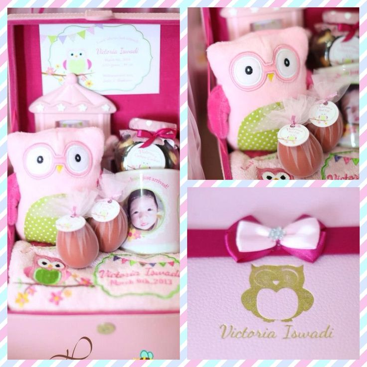 Pink owl theme