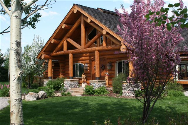 Million dollar log cabin multi million dollar estate for Jackson wyoming alloggio cabine