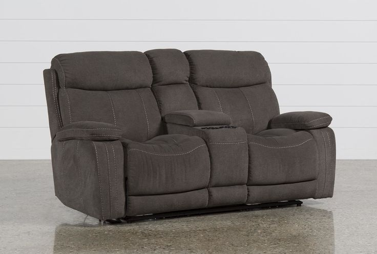 Colt Power Reclining Loveseat W/Console