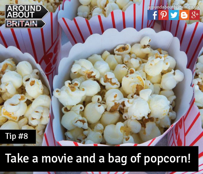 #Tip7 Pack your favourite movie & a bag of popcorn for a cozy night in #Staycation