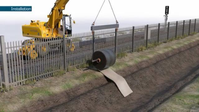 Concrete On A Roll Follow Engineeringhome For More Tag A Friend Who D Like To See This New Installation Concrete Construction Materials