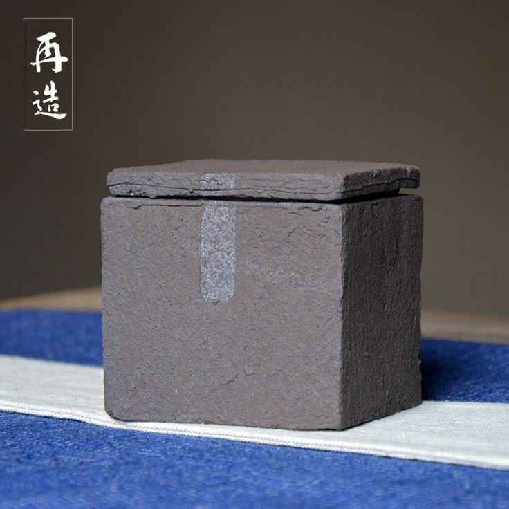 Cheap Tè in ceramica caddy tè gcaddy grossolana ceramica tea caddy tè imballaggio, Compro Qualità Stoccaggio bottiglie e vasetti direttamente da fornitori della Cina: dettagli del prodotto