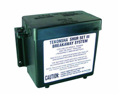 Tekonsha 20005 Shur-Set III Lockable Breakaway System with Battery and Switch - http://www.caraccessoriesonlinemarket.com/tekonsha-20005-shur-set-iii-lockable-breakaway-system-with-battery-and-switch/  #20005, #Battery, #BreakAway, #Lockable, #ShurSet, #Switch, #System, #Tekonsha #Brake-Systems, #Performance-Parts-Accessories
