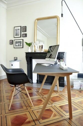ambiance contemporaine - bureau