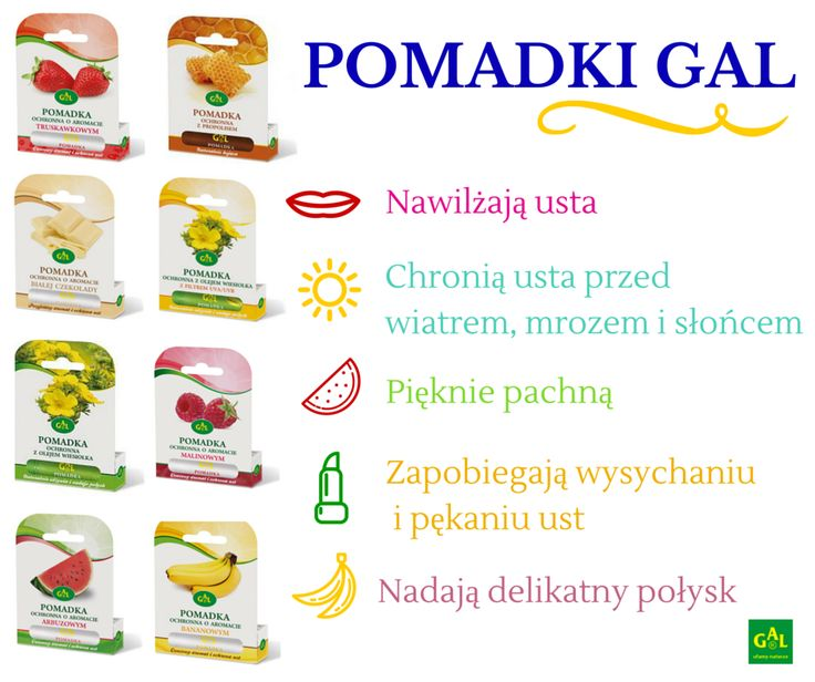 POMADKI GAL // www.gal.com.pl