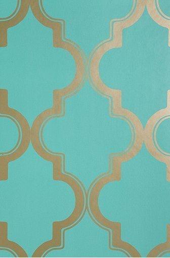Gold Pattern Pattern Wallpaper And Aqua On Pinterest