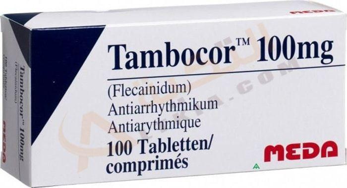 دواء تامبوكور Tambocor أقراص لعلاج اضطرابات القلب اضطرابات ضربات القلب لها خطر كبير على صحة المريض لأنها قد تتطور وتؤ Company Logo Tech Company Logos Logos