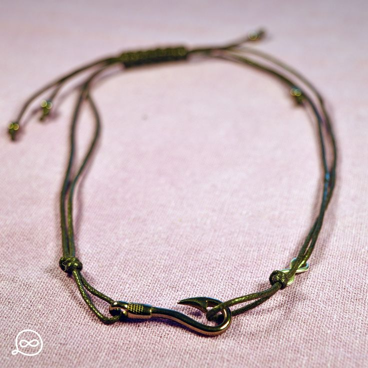 Gunmetal Hook Necklace. #tufatufa