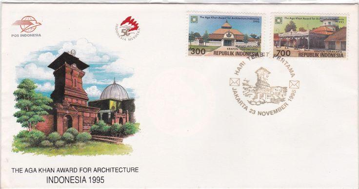 FDC The Aga Khan Award For Architecture Commemoration 1995 (Surakarta Palace & Yogyakarta Palace)