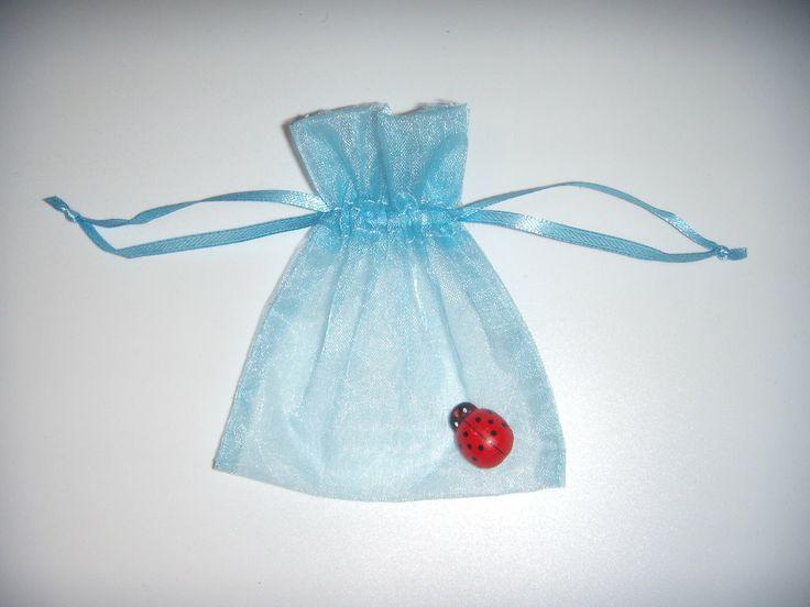 Sacchetto portaconfetti in organza, by creazioniFlo, 0,60 € su misshobby.com