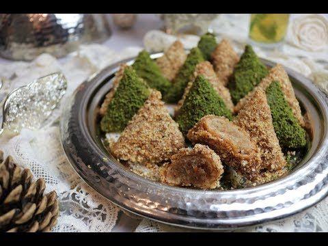 وصفة الصمصة باللوز(Briouates aux amandes)😍😍 حلويات تونسية - YouTube