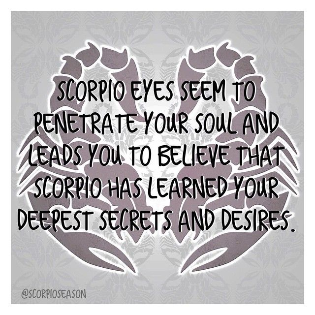 Scorpio eyes seem to penetrate your soul and leads you to believe that Scorpio has learned your deepest secrets and desires.  #scorpioseason #scorpiofacts #scorpio #astrology