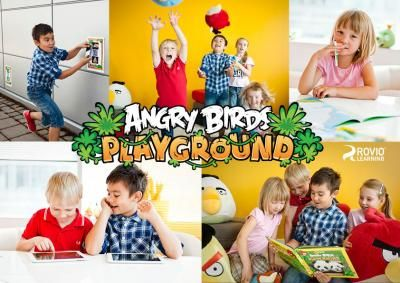 What if learning were fun? Angry Birds Playground learning concept